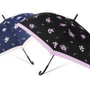 [65cm]婦人用大きい傘 ジャンプ傘 レディース ローズ柄