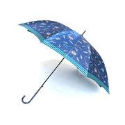 [60cm]傘 婦人傘 ジャンプ傘 レディース サテンシューズ柄