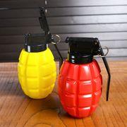調味料入れ 手榴弾 プラスチック 赤 黄 2個セット