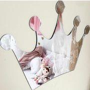 格安! INS人気ベビー新作★撮影写真★子供部屋装飾★デザイン小物★アクリル鏡★壁飾り掛け飾★王冠