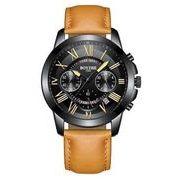送料無料 bz メンズ クロノグラフ カレンダー腕時計 b-20