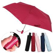 [55cm]安全ストッパー付き自動開閉折りたたみ傘 紳士 婦人 メンズ レディース