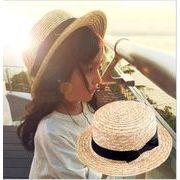 ★新品★親子帽子★麦わら帽子★キャップ★トッパー★