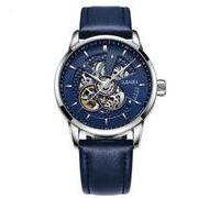 送料無料 OB メンズ スケルトン ビジネス 自動巻き 腕時計 ob-2