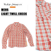 NUDIE JEANS CO ヌーディジーンズ MENS 長袖シャツ<ラスト4点>