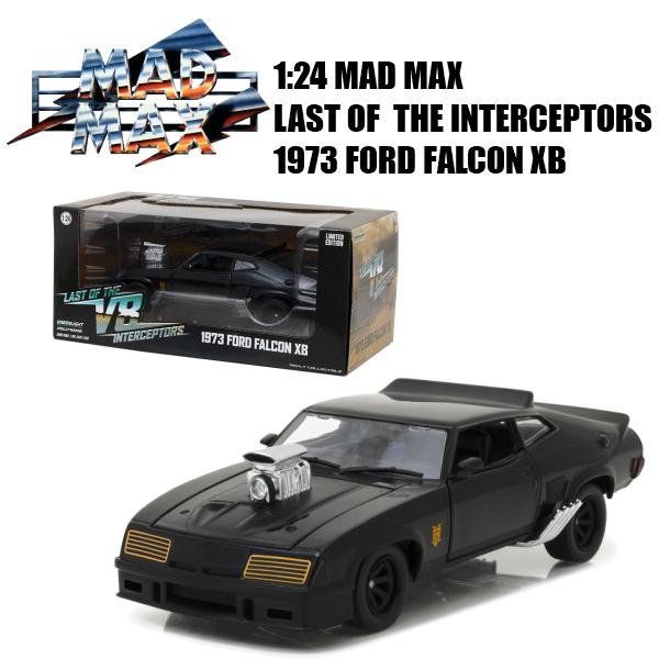 GREENLIGHT 1:24 MAD MAX LAST OF THE V8 INTERCEPTORS 1973 FORD FALCON XB