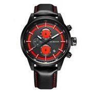 ost メンズ 夜光 クロノグラフ カレンダー腕時計 st-77