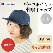 春夏 【Champion】バックポイント刺繍キャップ 4color