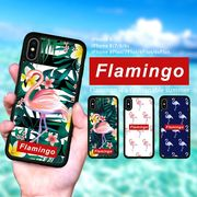 耐衝撃 iPhone ケース iPhone8ケース スマホケース ブランド Aloha アロハ フラミンゴ 夏 ブランド