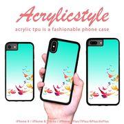 iPhone 7 8 X ケース 鳥 動物 アニマル レインボー
