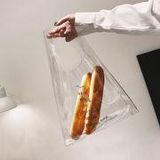 透明バッグ レジカゴ エコバッグ トートバッグ 街歩きバッグ シンプル 個性的