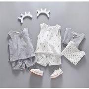 子供服 夏 セットアップ 星柄 Tシャツ+パンツ 男の子 2点セット カジュアル系