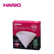 「公式」V60用ペーパーフィルター02W 40枚入り_HARIO(ハリオ)