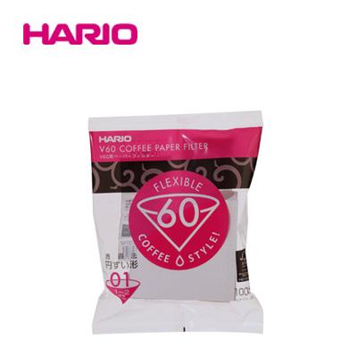 「公式」V60用ペーパーフィルター01W 100枚入り VCF-01-100W_HARIO(ハリオ)