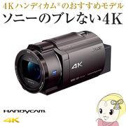 FDR-AX45-TI ソニー デジタル4Kビデオカメラ ハンディカム