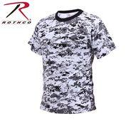 ROTHCO ロスコ 迷彩柄 半袖 Tシャツ シティーカモフラージュ柄 USA アメリカ直輸入 ミリタリーTシャツ