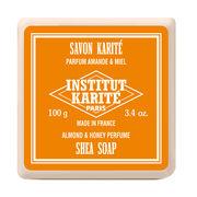 INSTITUT KARITE インスティテュート カリテ Shea Wrapped Soap シアソープ 100g Almond & Honey