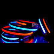 【L'ange】 充電式LED カラー(首輪)