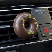 車用エアコンルーバー取り付け芳香剤 IKOKKA ハニーソープ