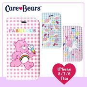 【Care Bears】diary iPhone Case 手帳型 iPhone ケースカバー (3color