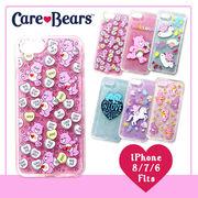 【Care Bears】iPhoneケース [iPhone8/7/6対応] ラメ TPU ソフトケース