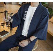和服 大きいサイズ 新作 漢服 半袖 プリント シンプル アニメ ジュニア カジュアル  夏