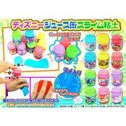 【7月】 ディズニージュース缶 スライム粘土 /スライム ディズニー 玩具 粘土