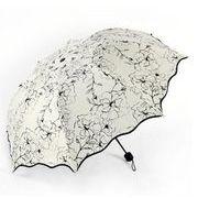 ★かわいい傘★キリン折りたたみ日傘★ポータブル(雨晴兼用傘)