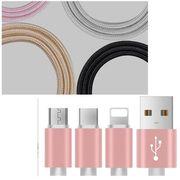 1.5m iPhone用 ケーブル 急速充電 データ転送 USB コード アルミニウム合金コネクタ 激安