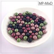 マットパールトライアル[MixD] お試しパック rikiビーズ つや消し アクリルビーズ
