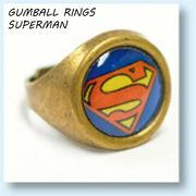 GUMBALL RINGS SUPERMAN 【 ガムボール リング スーパーマン 】