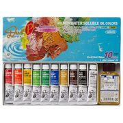 ホルベイン 油絵具 アクアオイルカラー DUO Pコンパクトセット画用液付 DU949 10ml(4号)