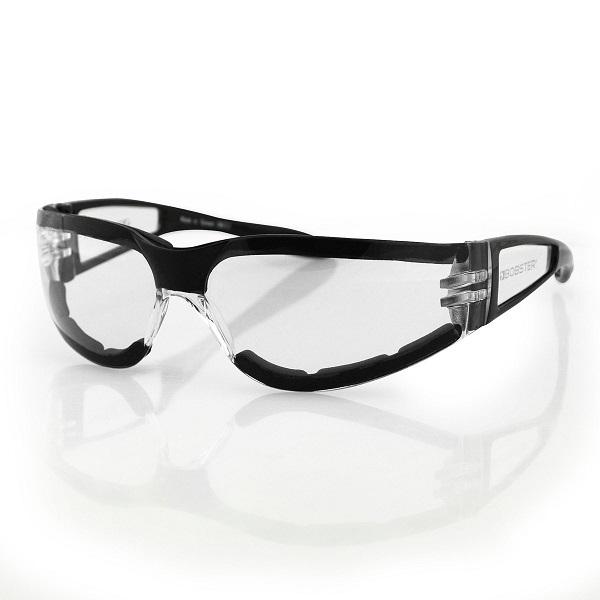 BOBSTER ボブスター ライダーサングラス ザ・シールドII ブラックサイドフレーム レンズカラー全4色