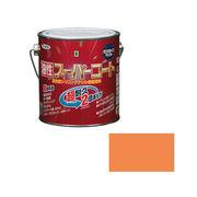 アサヒペン 油性スーパーコート 0.7L ラフィネオレンジ×5セット