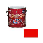 アサヒペン 油性スーパーコート 0.7L 赤×5セット