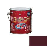 アサヒペン 油性スーパーコート 0.7L チョコレート×5セット