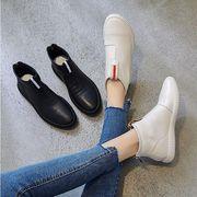 アンクルブーツ レディーススニーカー 女性靴 レザーブーツ