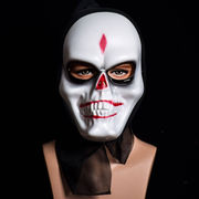 新作 ★ ハロウィン飾り パーティグッズ 髑髏面具 装飾 装飾品  舞踏会 イベント