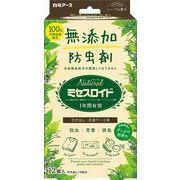 Naturalミセスロイド引き出し用 12個入 【 白元アース 】 【 防虫剤 】