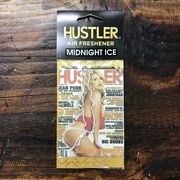 HUSTLERセクシーガールエアフレッシュナー・芳香剤・ミッドナイトアイス(ブラックアイス風)2007-11