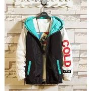 秋冬新作メンズコート トップス大きいサイズ ゆったり おしゃれ♪ブラック/パープル2色