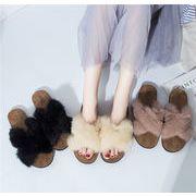 レディースシューズ 靴 サンダル スリッパ フラットシューズ ローヒール 履きやすい