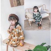 秋新作 子供 ワンピース 女の子 長袖 ファッション カジュアル