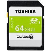 東芝 SDHCカード64GBクラス10 SDAR40N64G