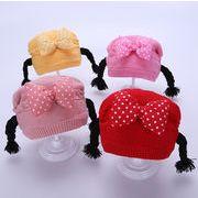 秋冬新作♪子供帽子★キャップ ★帽子★ニット帽子★ニットハット★赤ちゃん帽子