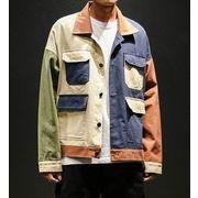 秋冬新作メンズコート ジャケット トップス大きいサイズ ゆったり おしゃれ