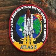 【予約販売】NASA公認ワッペン・アップリケ・スペースシャトルミッション・STS-66