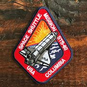 【予約販売】NASA公認ワッペン・アップリケ・スペースシャトルミッション・STS-62