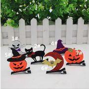 ハロウィン 頭の飾り 道具頭の飾り 首の箍 ヘアピン コウモリの頭飾り かぼちゃの幽霊黒猫