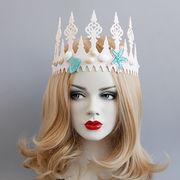 コスプレ 髪飾り 王冠 仮面舞踏会 ハロウィン 仮装パーティ 宴会